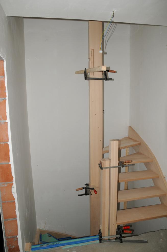Bouw droomhuis wendy bart - Trap toegang tot zolder ...