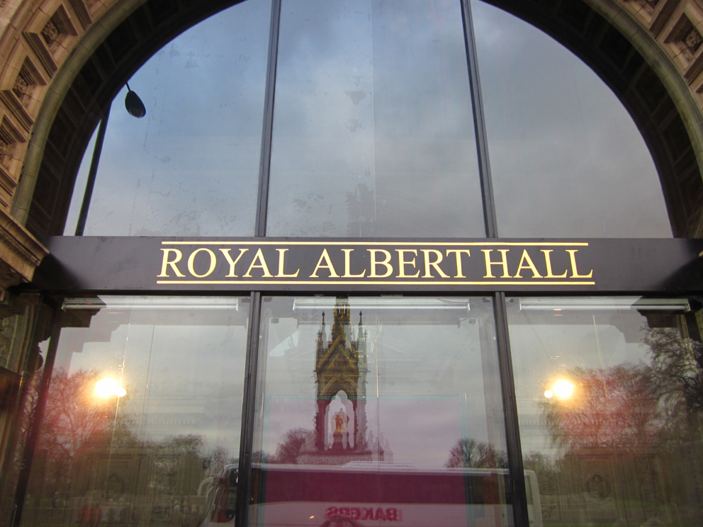 Zingen met je hart for Door 12 royal albert hall