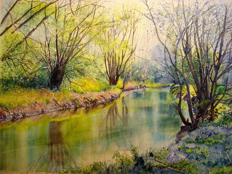Watercolor Fun Joe Freeman