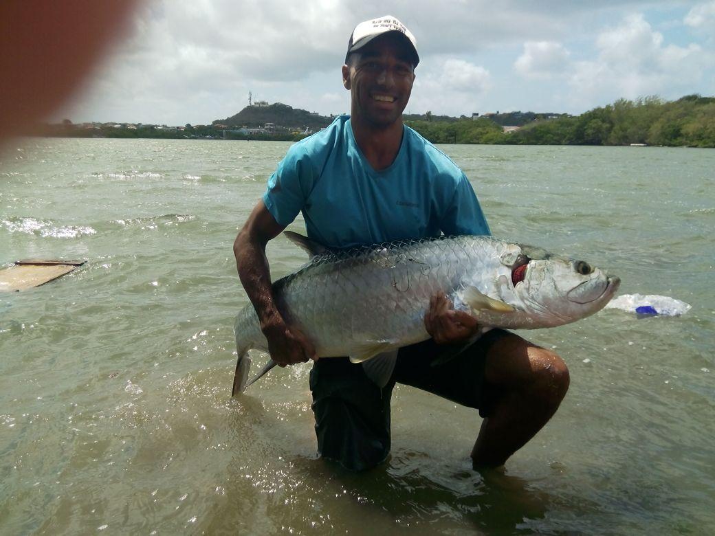 Catch kayak fishing Curacao  Tarpon