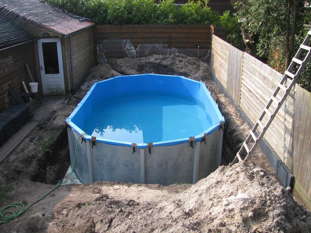 Bouw zwembad for Zelf zwembad verwarmen