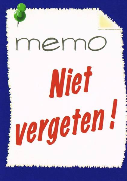 memo schrijven examen nederlands