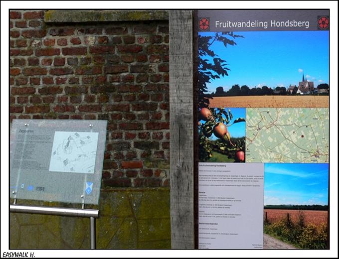 info bord recreatie gebied hout