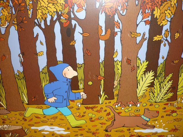 Afbeeldingsresultaat voor het bos tekening