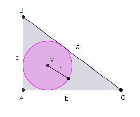 straal van een cirkel