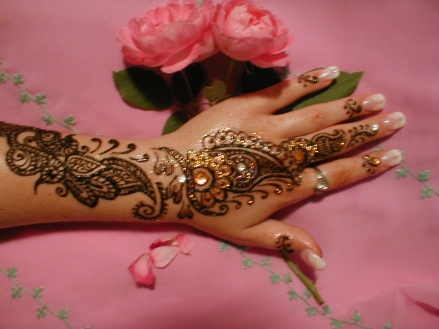 Welkom op mijn website imane - Marokkaans ajoure teken ...