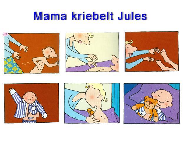 Afbeeldingsresultaat voor mama kriebelt jules
