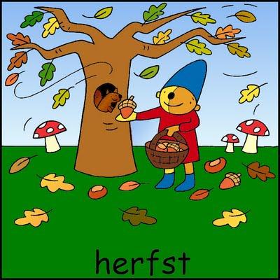 Afbeeldingsresultaat voor Afbeelding herfst in de kleuterklas