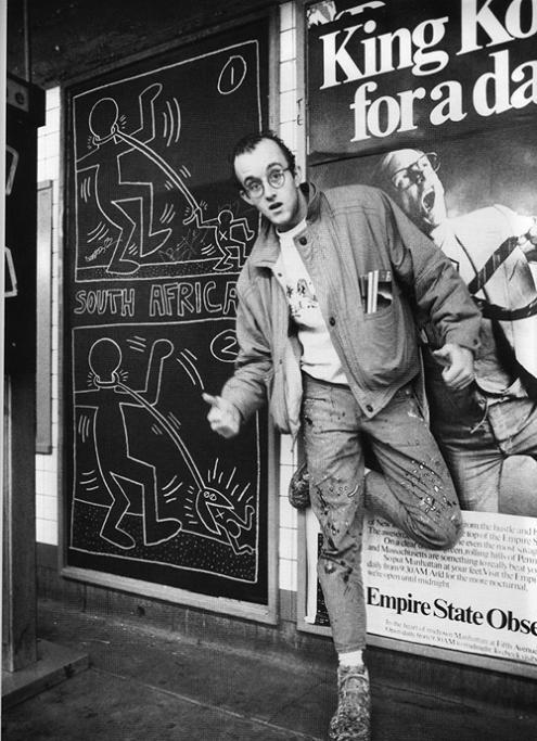 Keith Haring Foto Zara