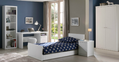 Chambre ado fille simple for Deco chambre simple