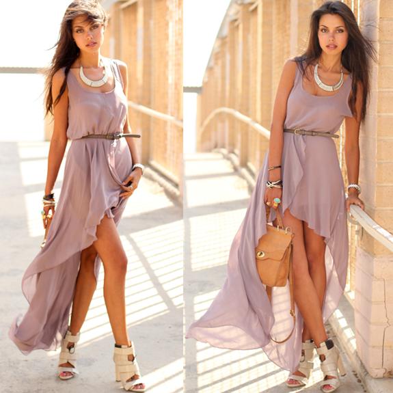 jurk voor kort achter lang kopen