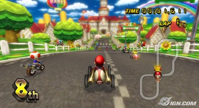 Nintendo ds wii spellen for Coupe miroir mario kart wii