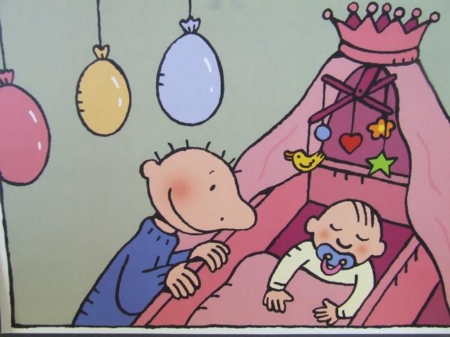 Afbeeldingsresultaat voor jules op babybezoek