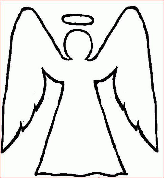 engelen vleugels tekening
