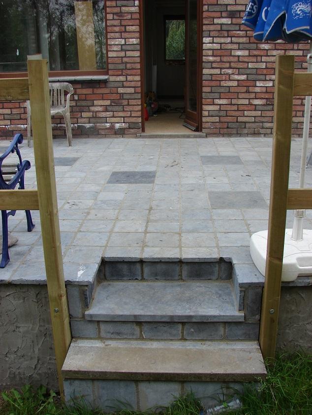 Verbouwlog - Zwembad onder het terras ...