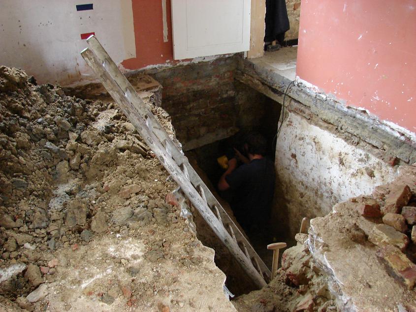 Badkamer In Kelder : En ik ben wederom bezig met het vullen van ...