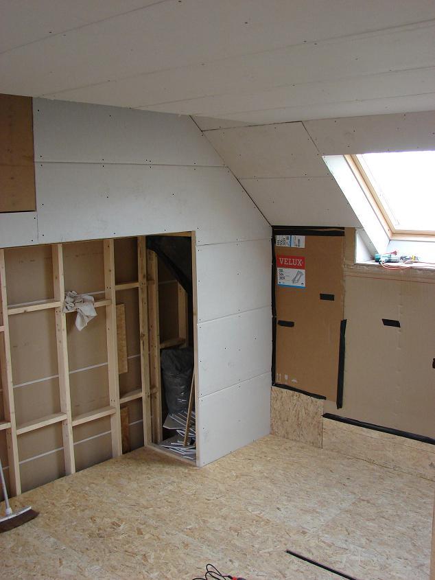 Verbouwlog for Slaapkamer op de zolderfotos