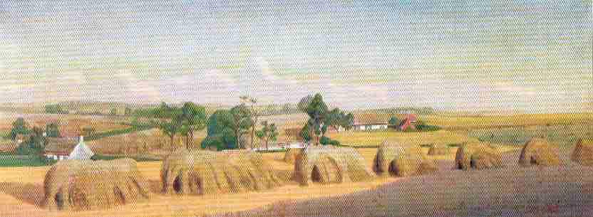Met pierre op stap door dorp en stad - Entree schilderij ...