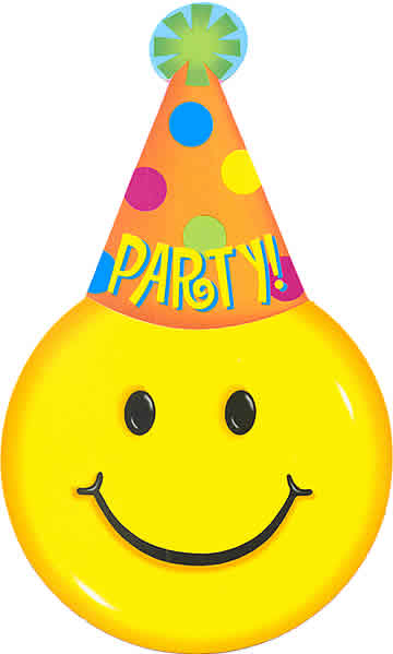happy new year smiley face clip art - photo #26