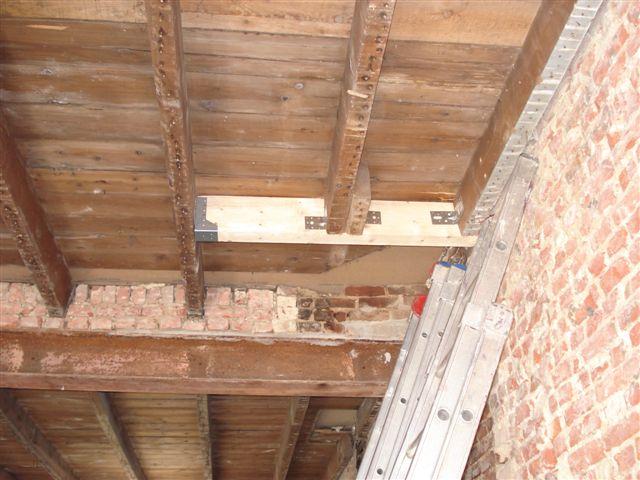 Zoldervloer verstevigen materialen voor constructie for Trapgat maken