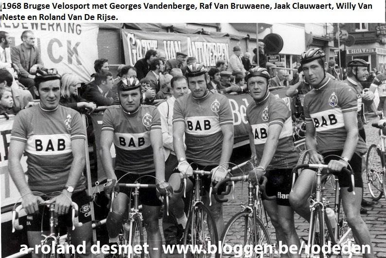 Mijmeringen en Nostalgie over het Wielrennen van toen en nu 0b9d6da24